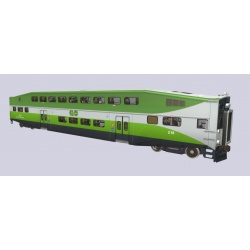 Go Transit Bombardier Bilevels - New Paint